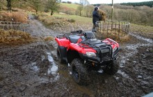 Honda ATV Farming
