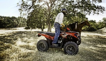 Kawasaki ATV Farming